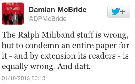 Gordon Brown's former advisor Damien McBride
