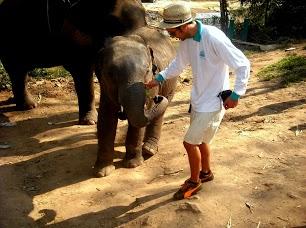Ben and Elephant