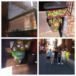 Printer's alley, nashville, dolly carton, johnny trash