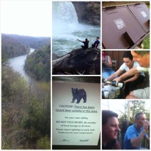 cumberland falls, black bears, kentucky,  Daniel Boone,
