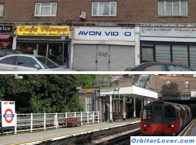 Tube station and Avon